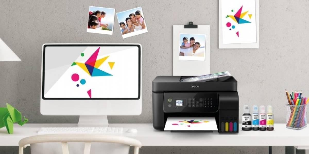 Soluciones en impresión que ayudarán a estudiar y desarrollar tareas desde casa