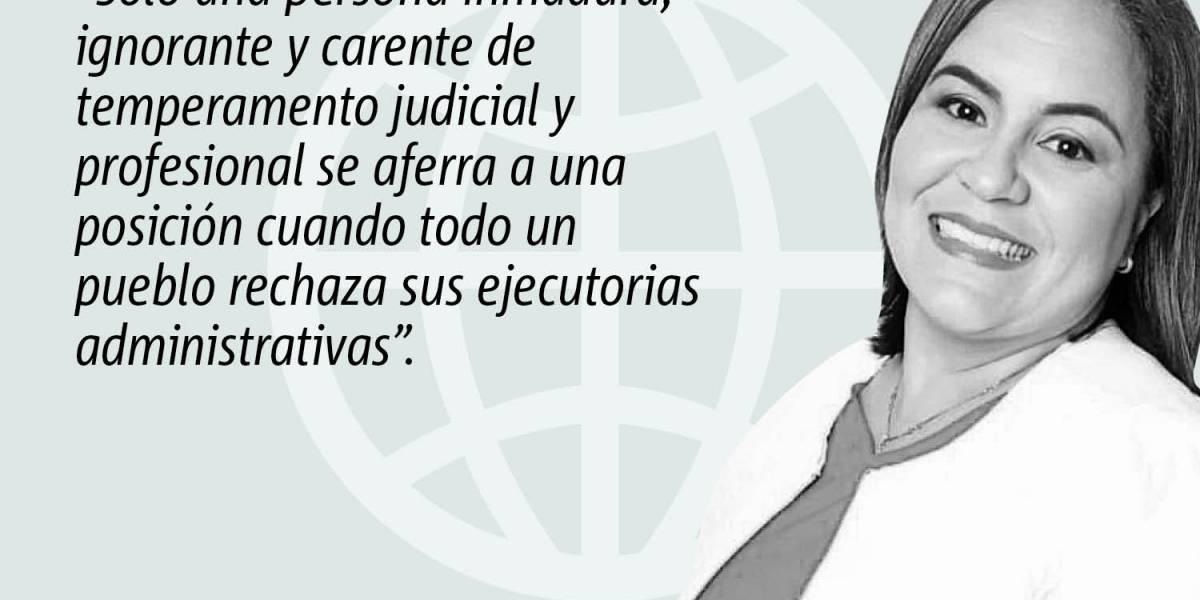 Columna de opinión de Yaramary Torres: Que renuncie el presidente de la CEE