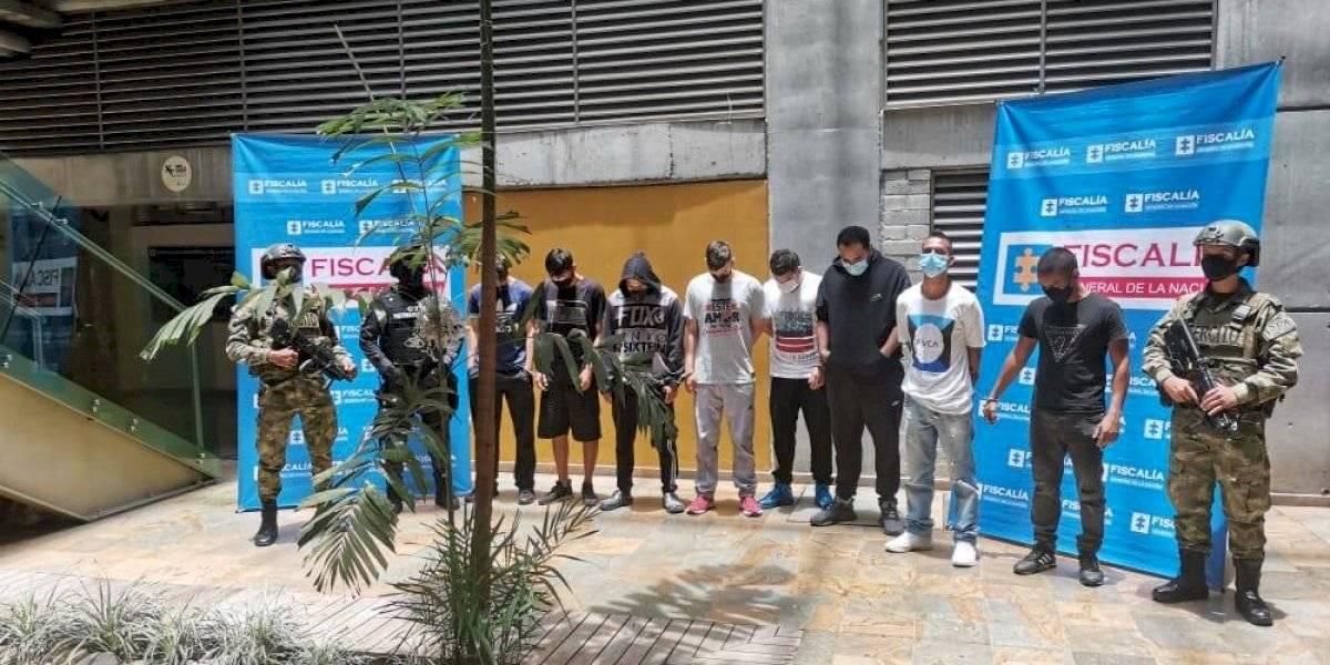 Capturaron a 13 integrantes de banda que vendía drogas en las afueras de colegios y universidades