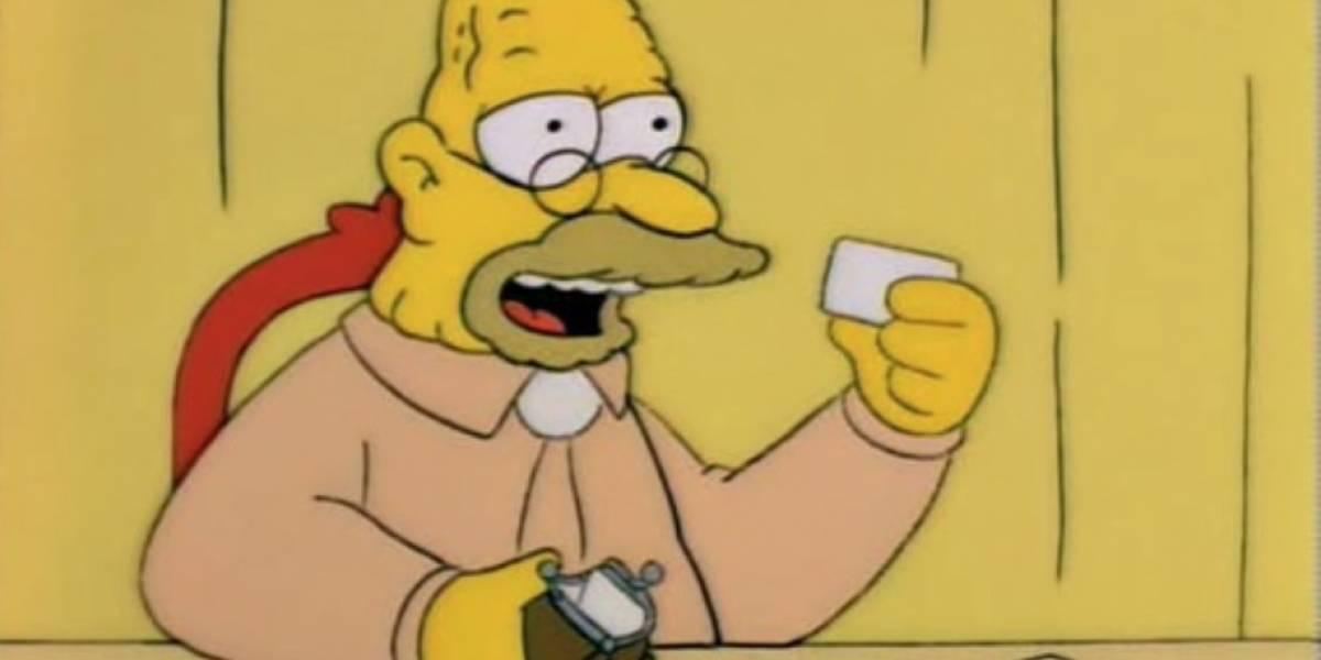 ¿El abuelo en Los Simpson fue bisexual?