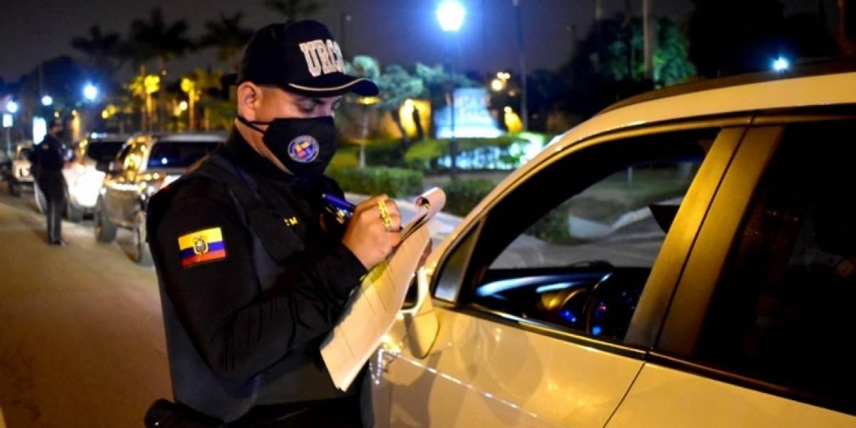 En Samborondón se realizaron operativos de control y prevención