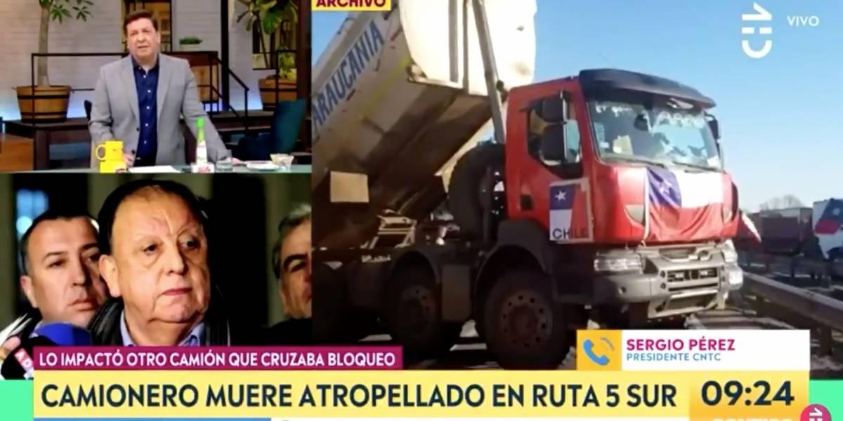 """""""Usted era del comando de Piñera"""": la tajante respuesta de Julio César Rodríguez a Sergio Pérez por petición en plena transmisión"""