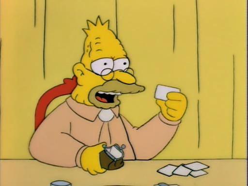 Los Simpson abuelo bisexual