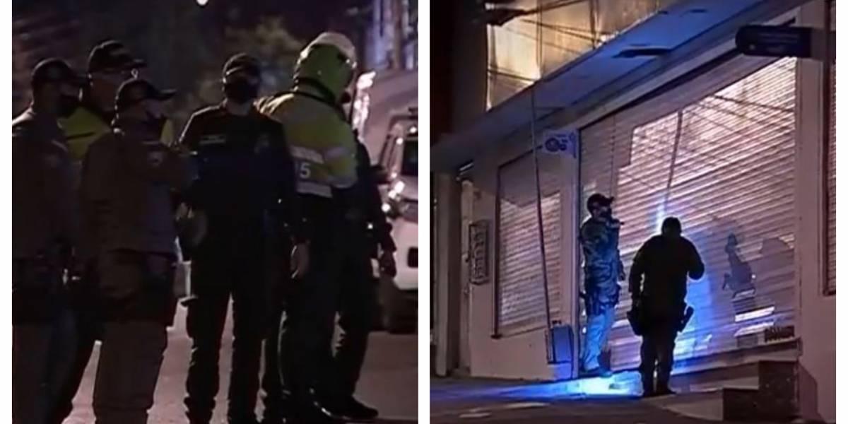 Detonan explosivo en supermercado de Bogotá