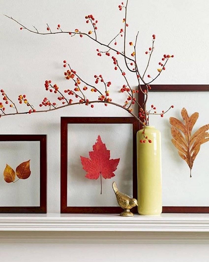 Los cuadros con motivos de otoño le darán un nuevo aire a tu casa.