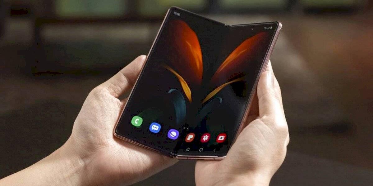 Samsung presenta su nuevo celular plegable de $2,000