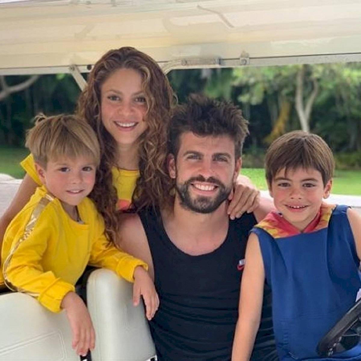 Shakira tiene un hermosa familia junto al futbolista Gerald Piqué