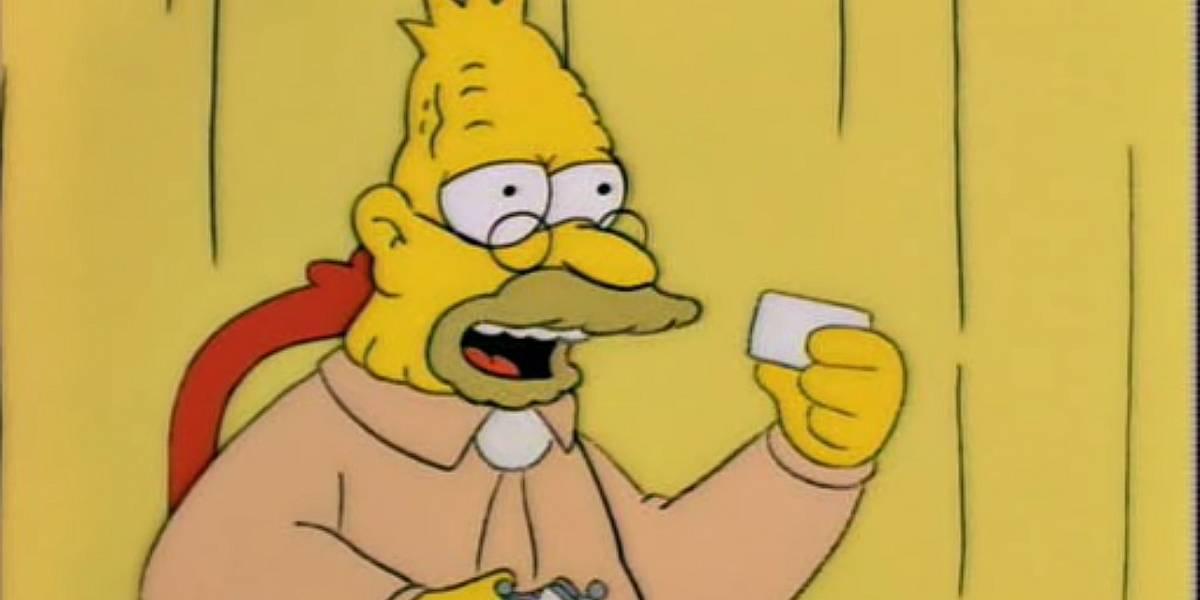 Los Simpson: el abuelo Simpson siempre fue bisexual y hay evidencia desde hace tiempo