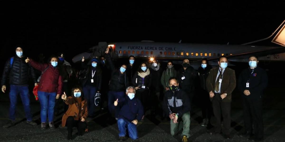 Personal de salud se trasladó de manera voluntaria hasta Magallanes para la lucha contra el coronavirus