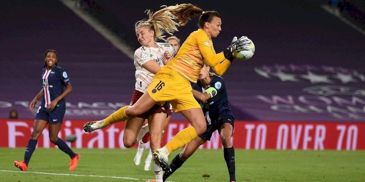 Christiane Endler aparece en equipo ideal de la Champions League femenina