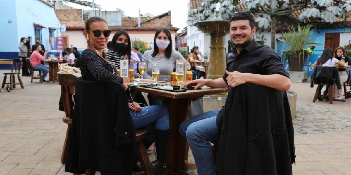 Cuenta regresiva para Bogotá A Cielo Abierto, el piloto para la reactivación del sector gastronómico
