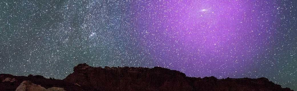 Galaxia Andromeda, imagen de la NASA