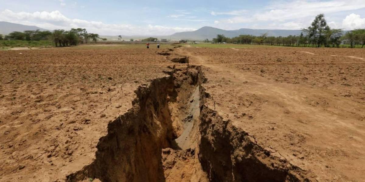 La impresionante grieta que dividirá el continente África en dos partes