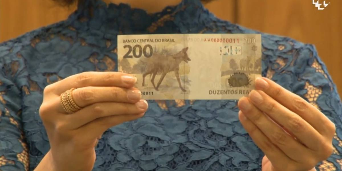 AO VIVO: Banco Central lança nota de R$ 200, estampada por lobo-guará