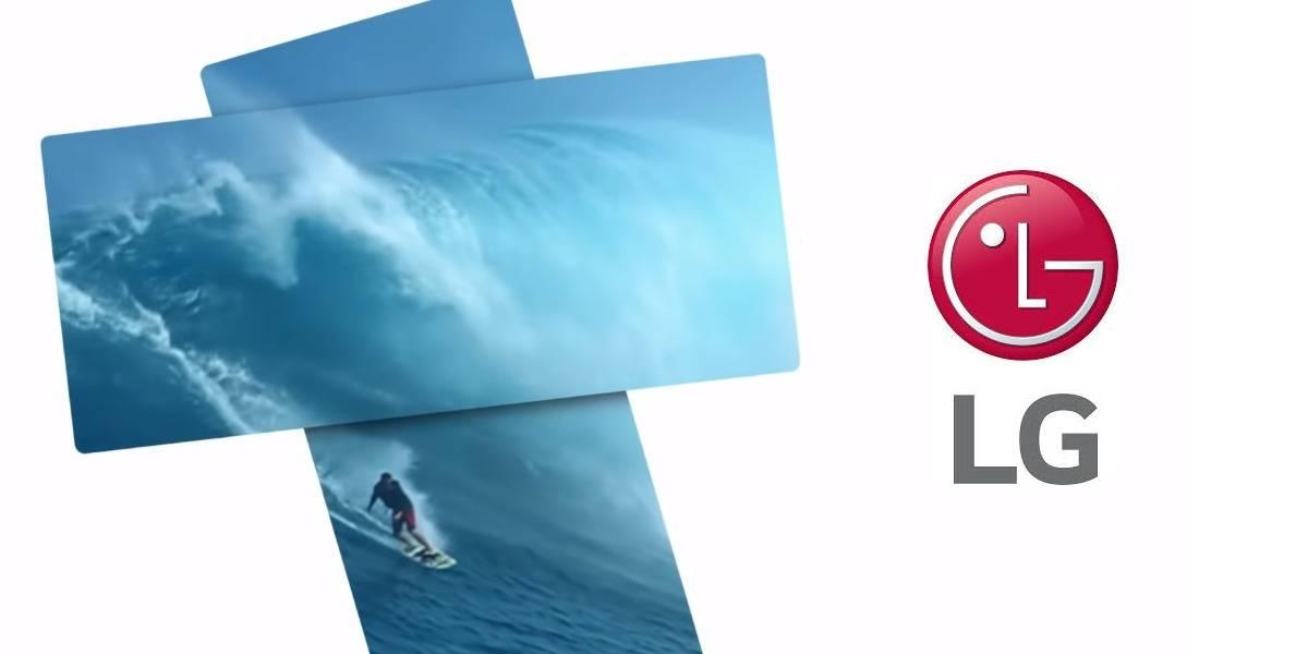 """Video: LG lanza adelanto de su pantalla plegable """"Wing"""" y es puro misterio"""