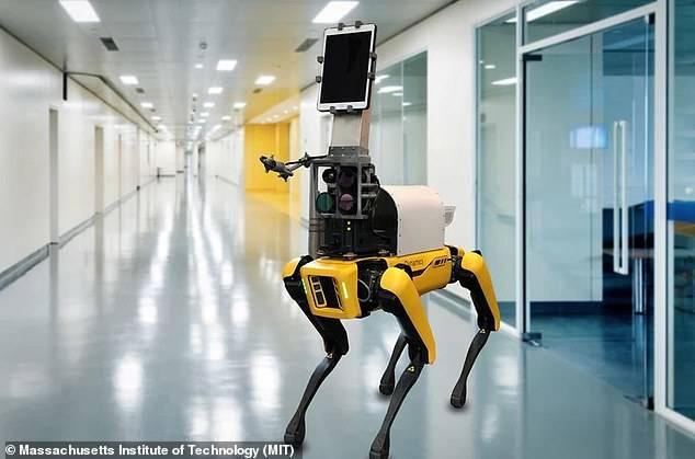 Spot, el perro robot que rastrea el coronavirus