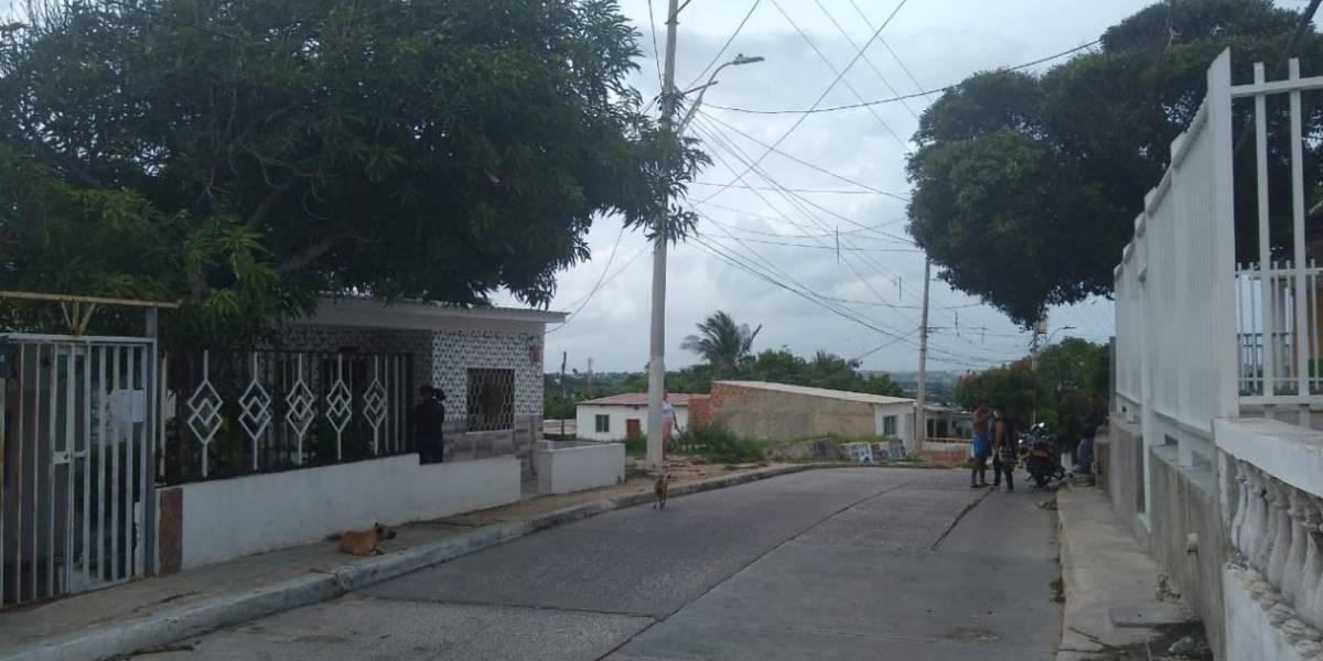 Electricaribe hizo arreglos en calle donde murió mujer por un cable de alta tensión