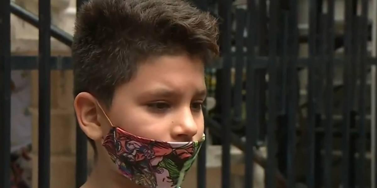 Niño de 11 años le salvó la vida a su abuela con asesoría telefónica