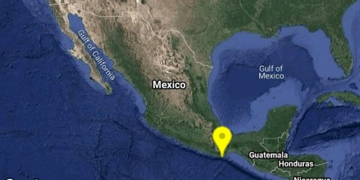 Sismo de magnitud 4.4 se registró esta mañana en Oaxaca