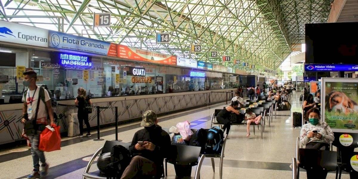 Terminales de Medellín ya están operando con buses que van a todos los destinos