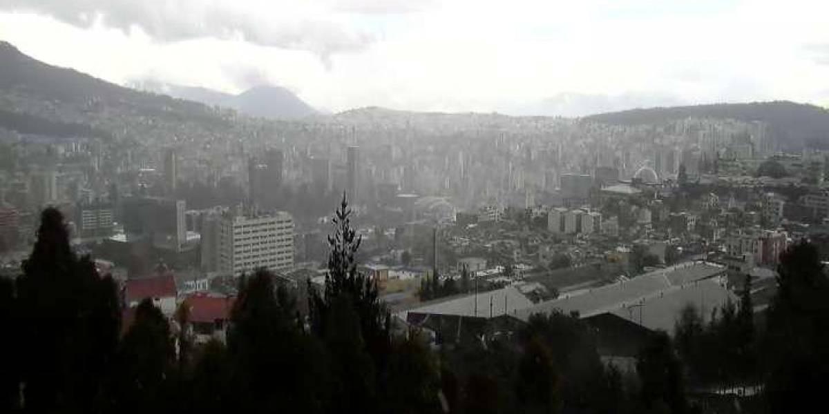 ¡Prepárese! Inamhi pronostica lluvias dispersas para esta tarde en Quito