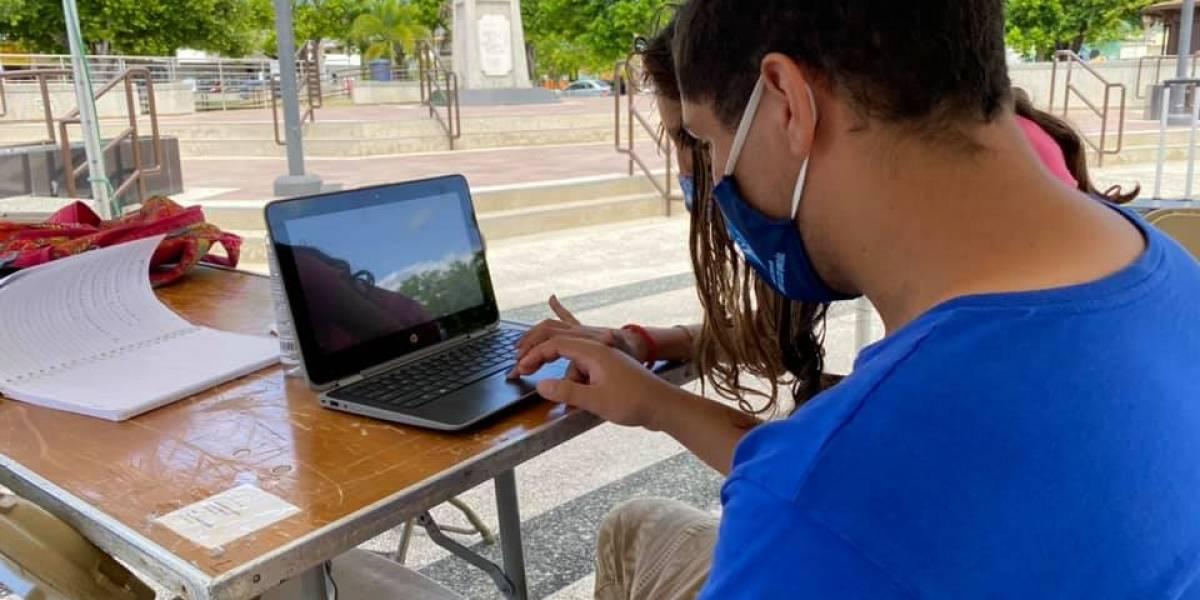 Plazas o centros municipales con Wifi para estudiantes