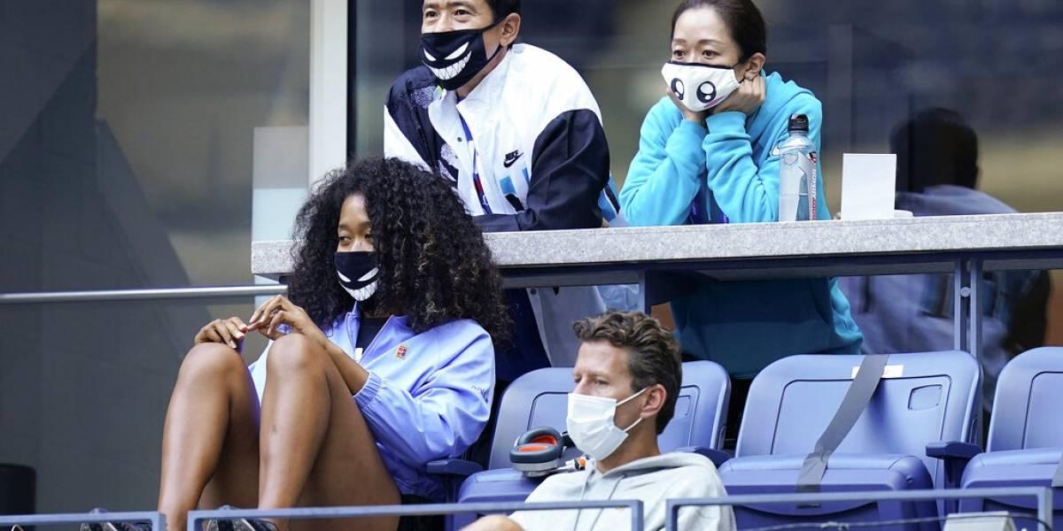 Tenistas se disfrutan las suites del US Open que estaban vacantes por el COVID-19