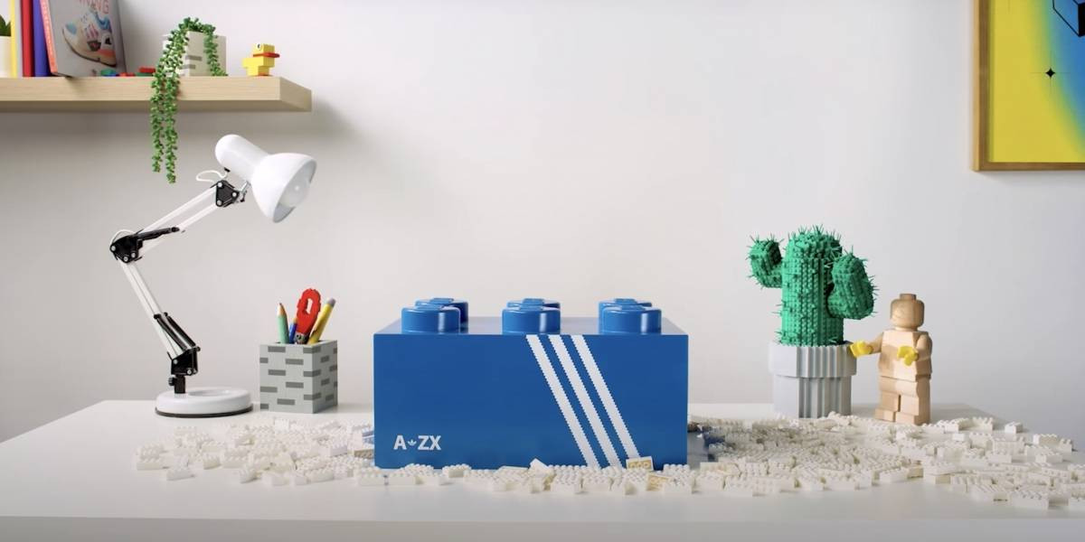 Adidas lanzará una zapatilla hecha en colaboración con LEGO