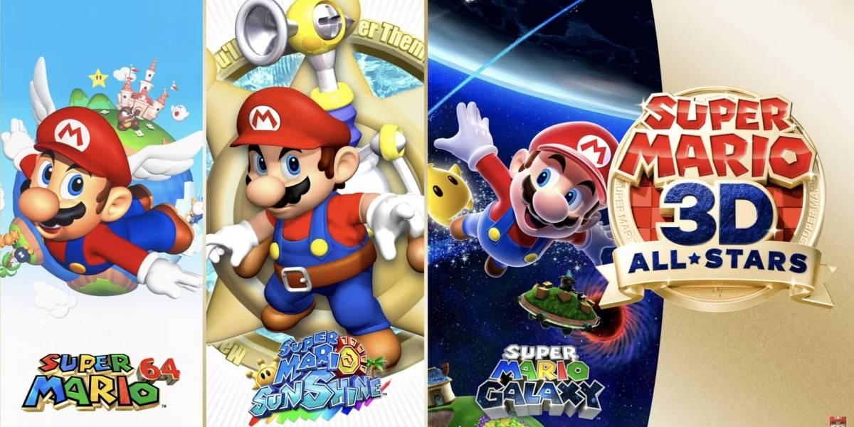 Nintendo confirma coleção de jogos 3D de 'Super Mario' para o Switch