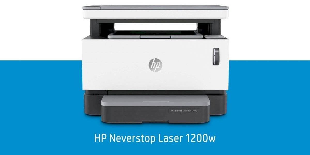 HP Neverstop Laser, la única impresora con tanque de tóner recargable en el mundo