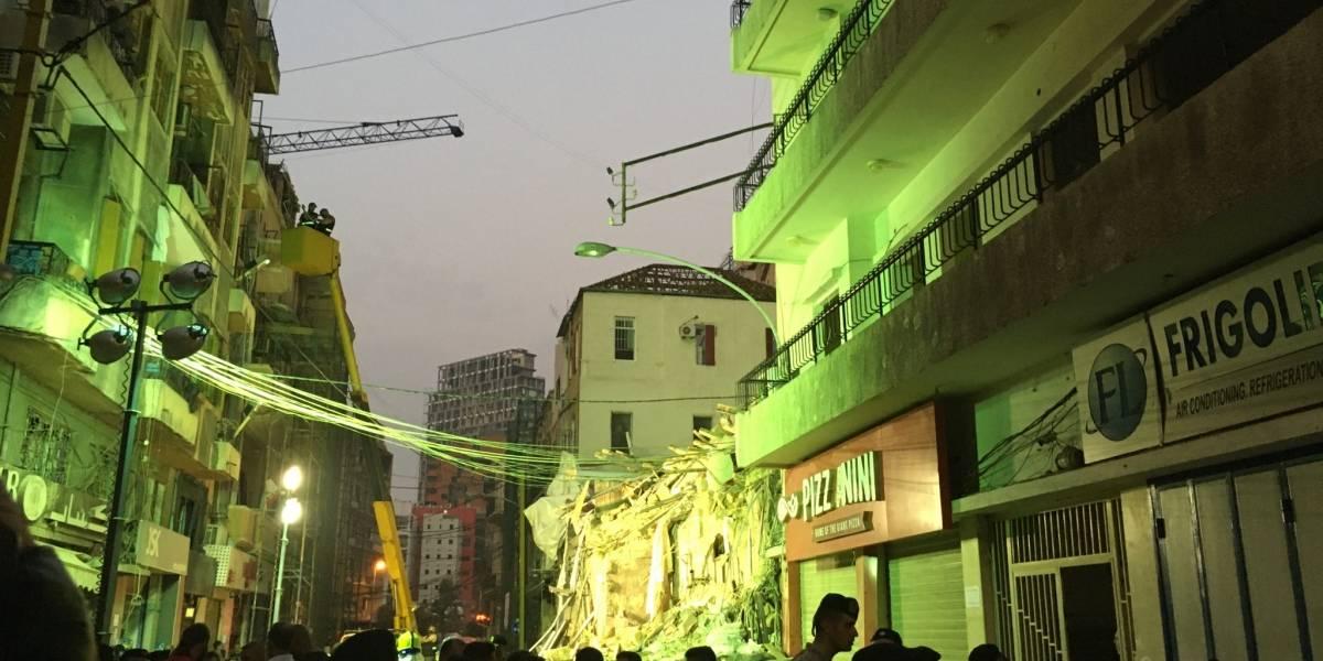 Explosión Beirut: equipo de rescate chileno detectó señales de vida debajo de los escombros 30 días después