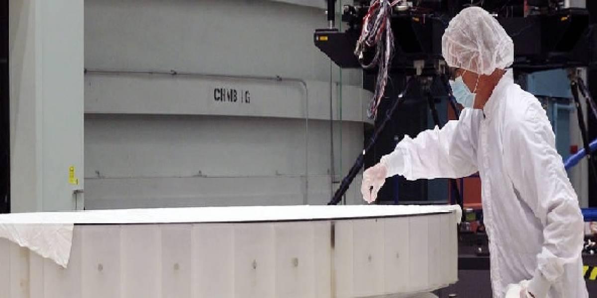 NASA: la agencia espacial completó el gigantesco espejo de su próximo telescopio espacial