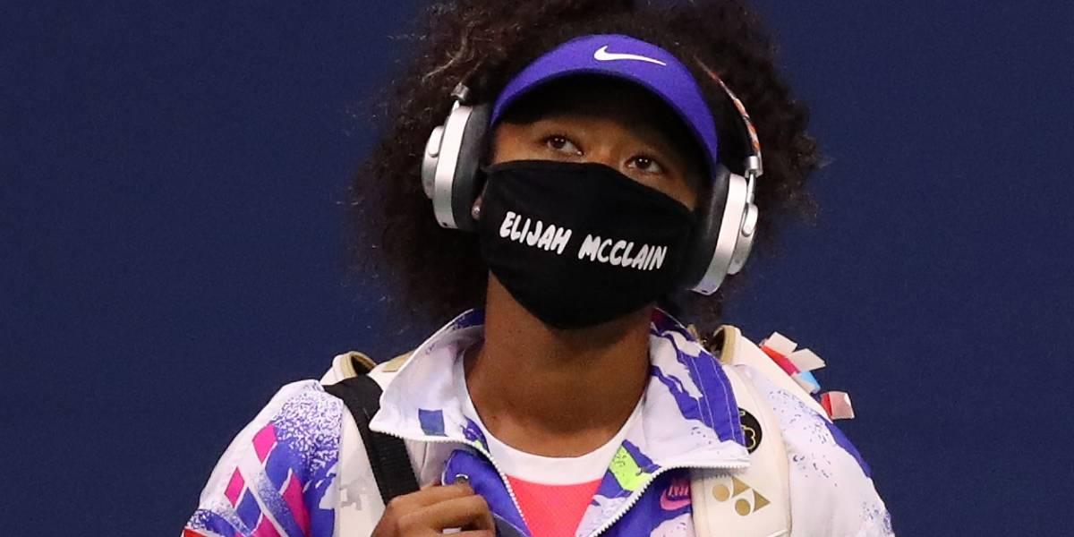 Tenista Naomi Osaka estampa nomes de vítimas de violência policial em máscaras