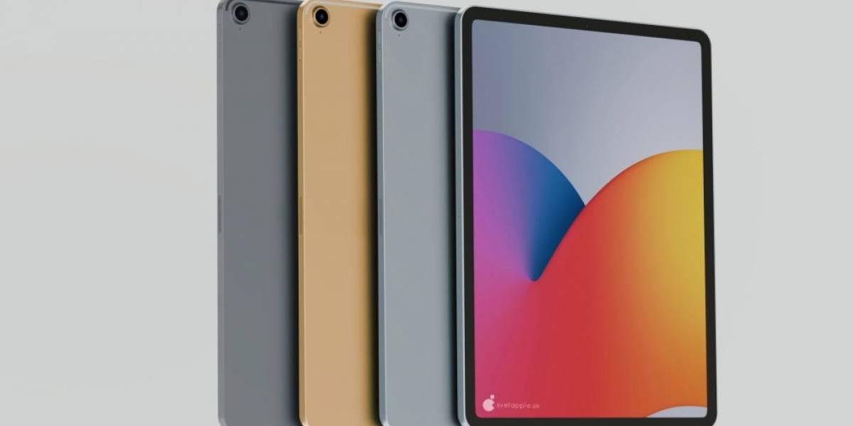 iPad Air 2020 se muestra en diseño conceptual que parece real