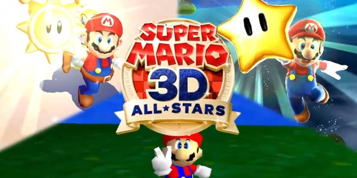 Super Mario 3D All Stars es anunciado para Nintendo Switch con Super Mario 64 en HD