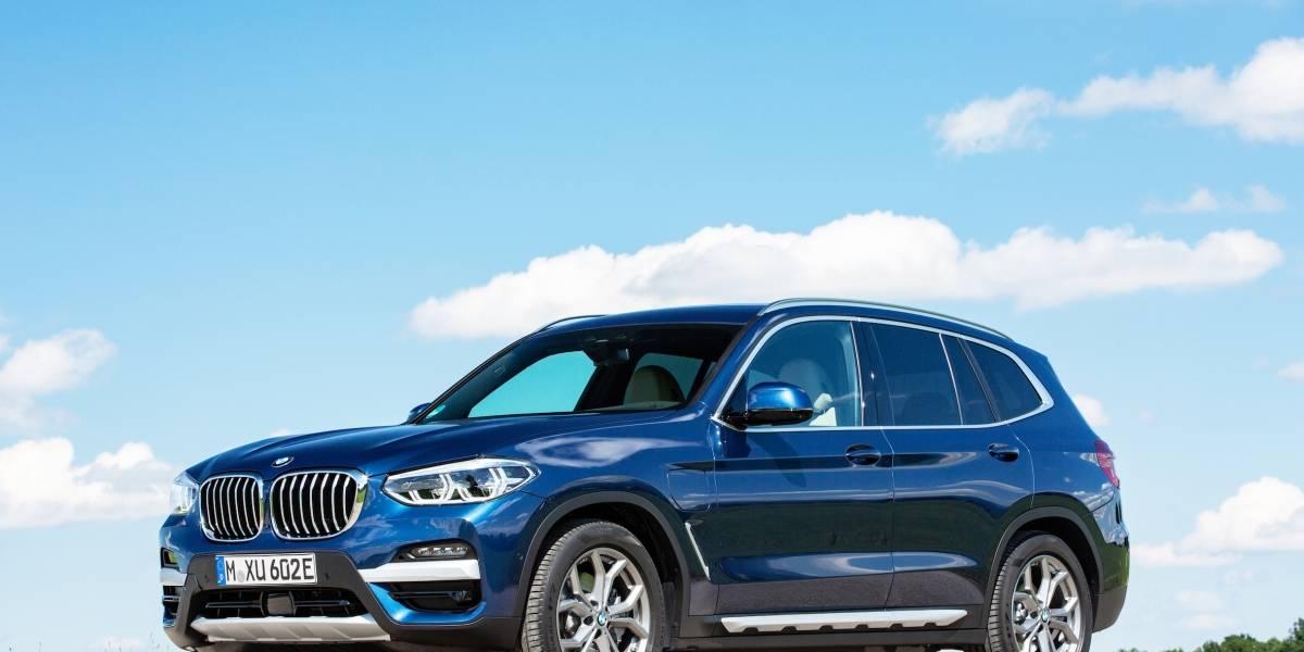 Con un X3 híbrido enchufable, BMW sigue ampliando su portafolio más verde
