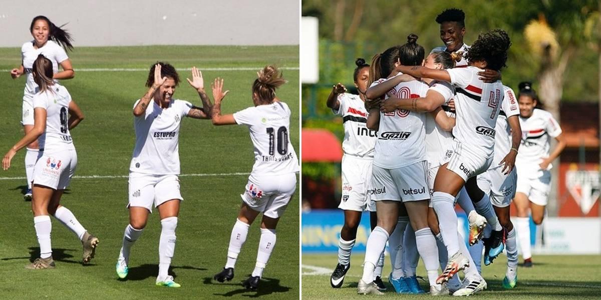 Band exibe duelo entre Santos e São Paulo pelo Campeonato Brasileiro Feminino