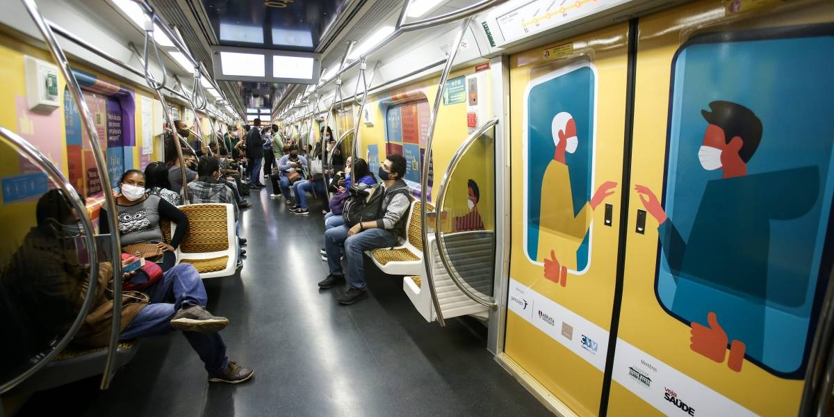 'Setembro Amarelo': Metrô de SP terá 'vagão do acolhimento' dedicado à depressão