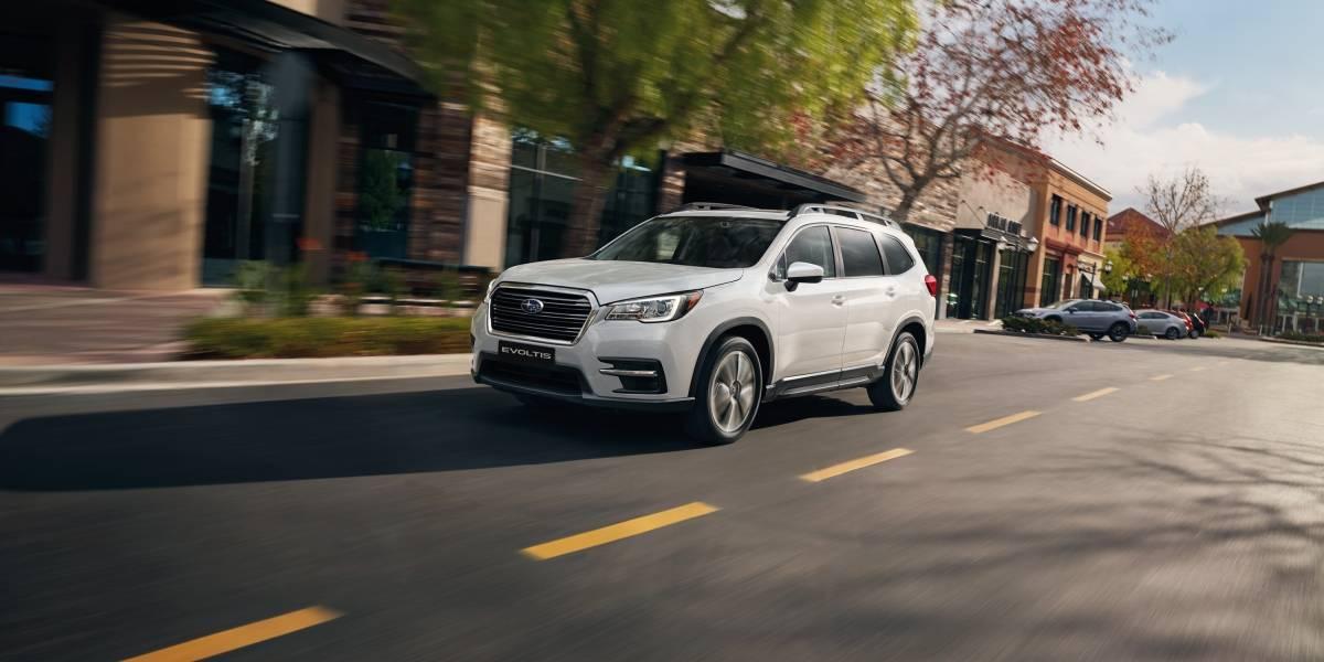 Subaru comienza la preventa de Evoltis, su SUV de tres corridas de asientos