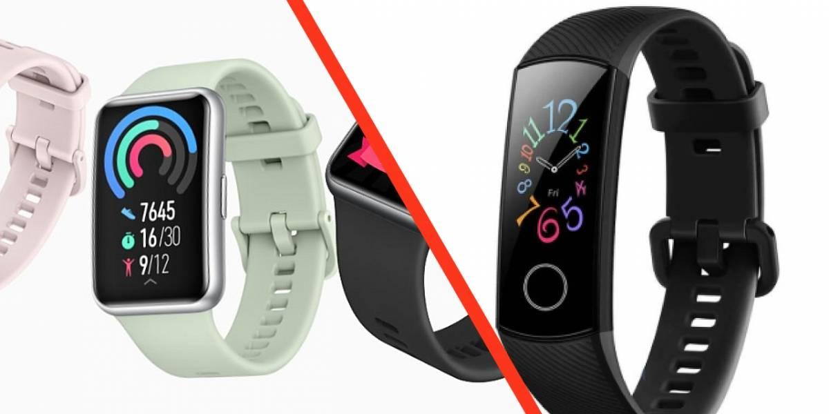 Huawei Watch Fit vs Huawei Honor Band: ¿cuál es la diferencia?