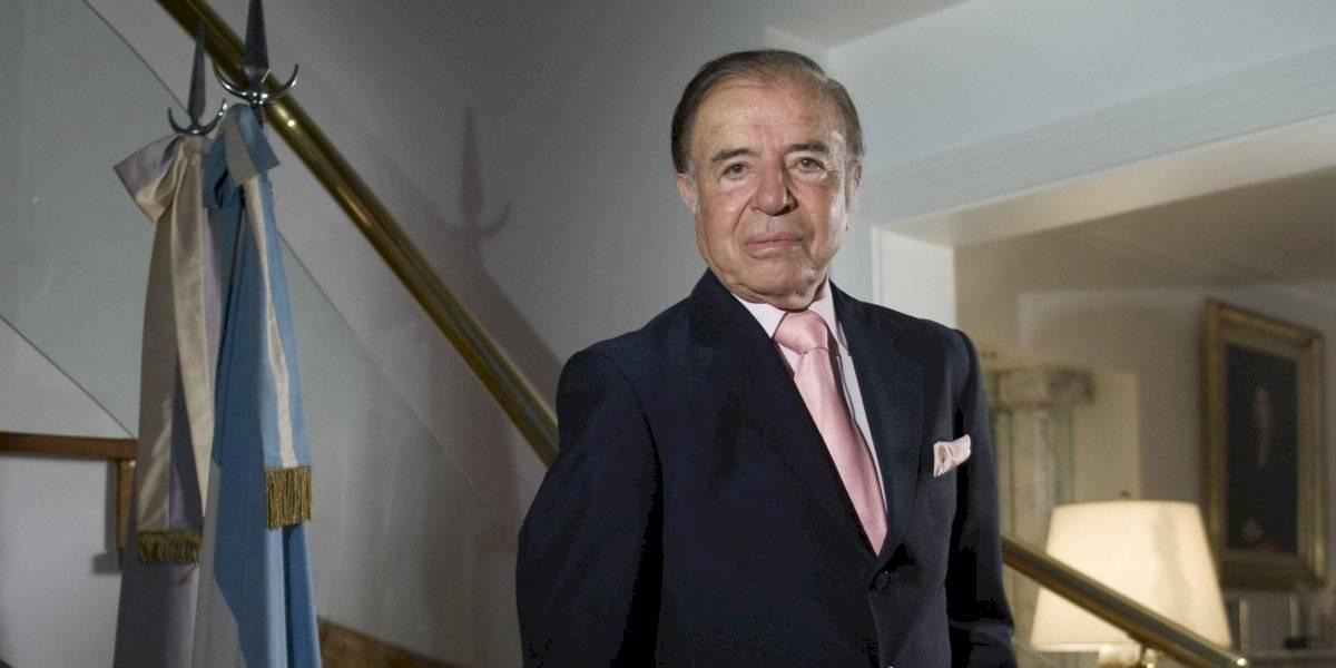 Anuncian serie sobre la vida y la presidencia de Carlos Menem