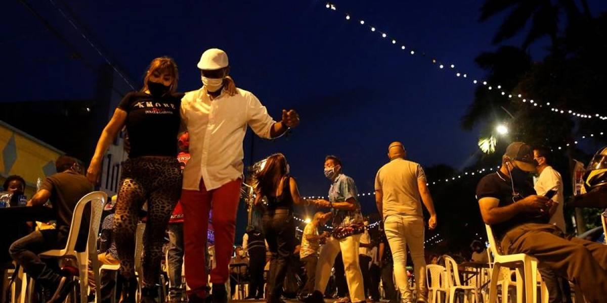 FOTOS: Inició el piloto para la reactivación de las fiestas en Cali