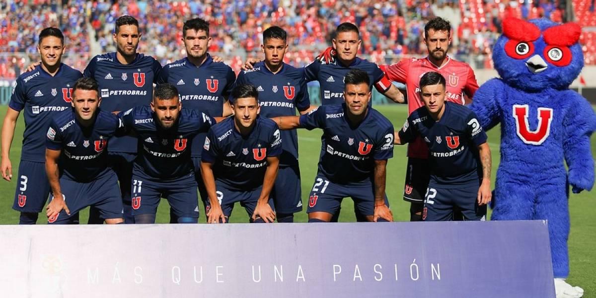 La formación con que la U buscará romper una racha de siete años ante Colo Colo en el Superclásico