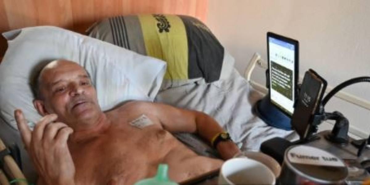 La historia del hombre que se dejará morir y lo transmitirá por Facebook