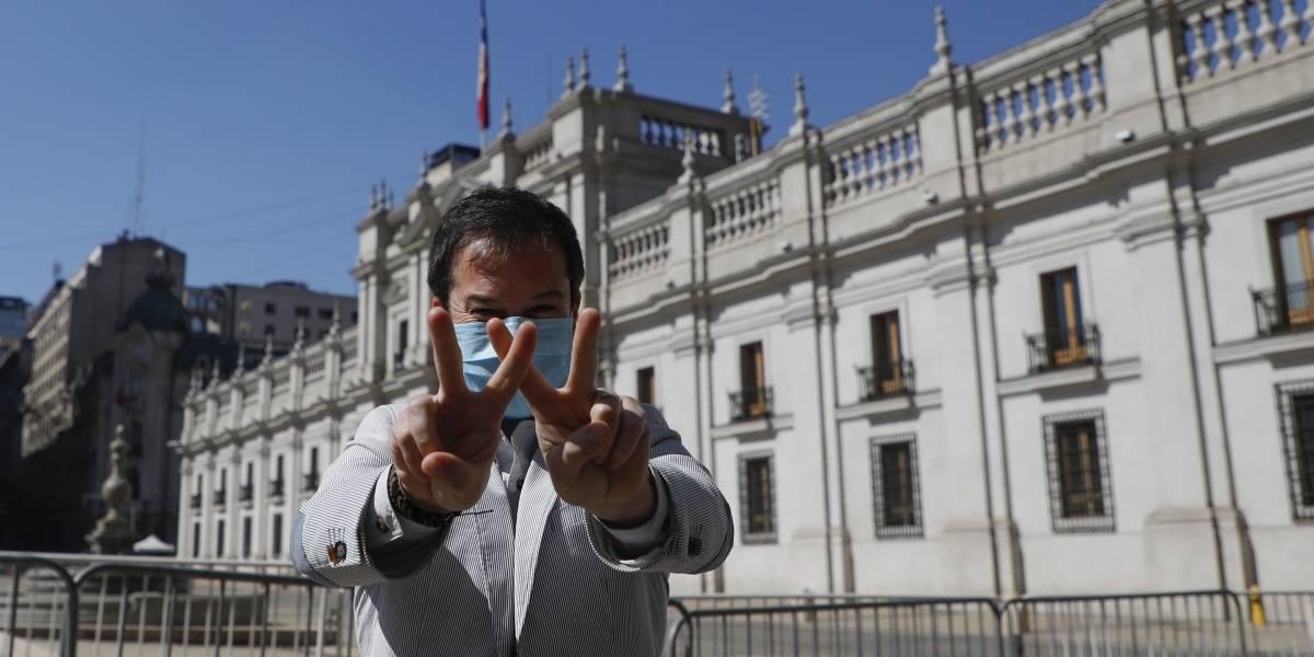 """Lucas Palacios y la ilusión de vivir """"sin problemas"""" con un sueldo de $320.000"""