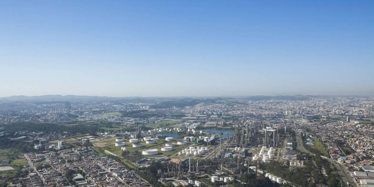Polo Petroquímico do ABC registra 61 quedas de balões em apenas três meses