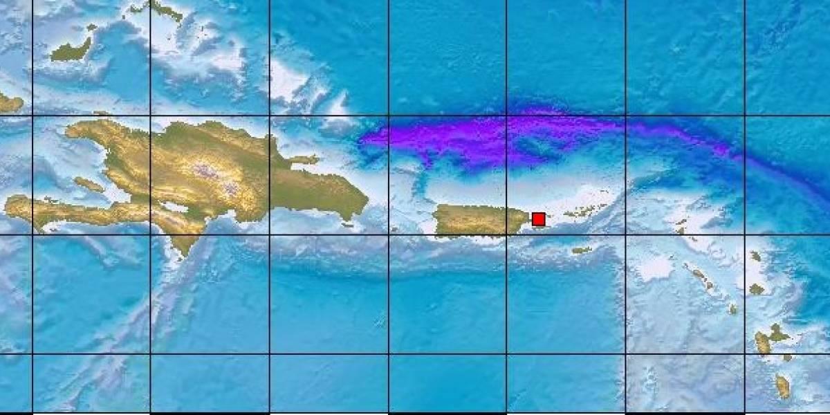 Reportan temblor de 3.7 al este de Puerto Rico