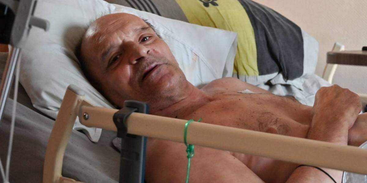 Terrible drama en vivo: francés desahuciado por enfermedad terminal quiso acabar con su vida y Facebook lo impidió