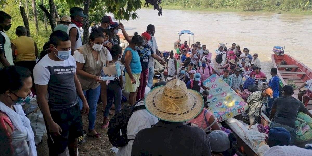 40 Familias de indígenas Zenú fueron desplazadas de la isla de La Dulzura en Antioquia