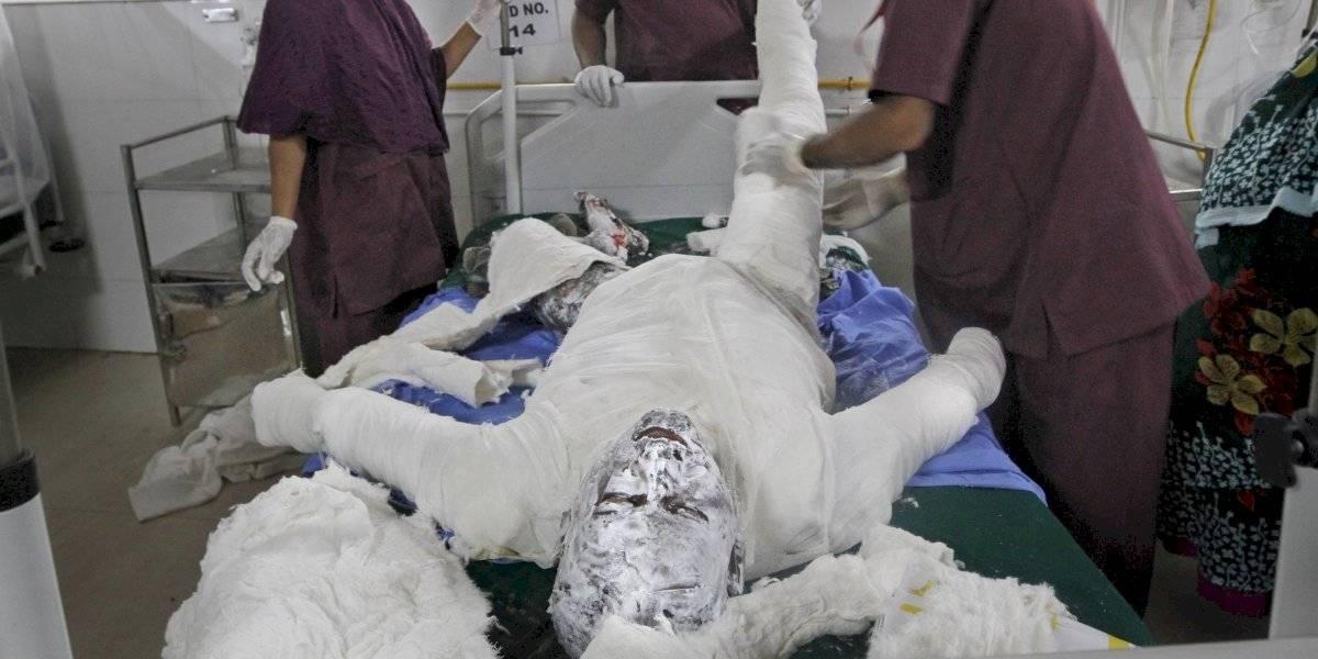Explosión en una tubería de gas en Bangladesh deja 16 muertos